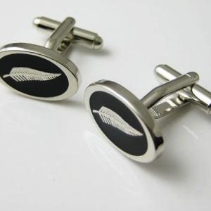 Silver Fern Cufflinks