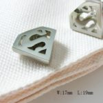 Silver Superman Cufflinks