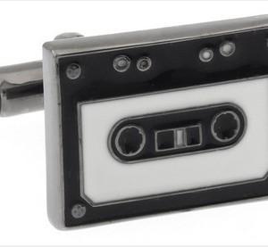 Cassette Cufflinks Large