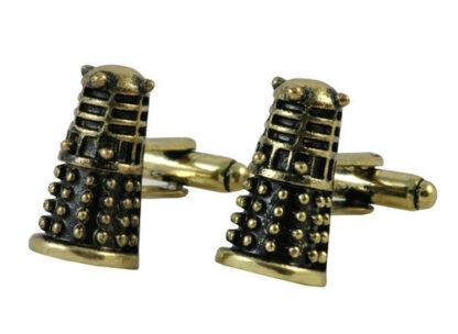 Dalek Cufflinks available in New Zealand right here at www.linkz.co.nz