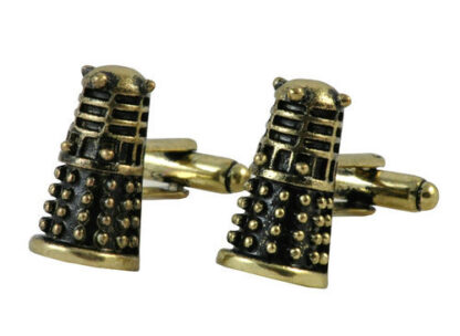Dalek Cufflinks available in New Zealand right here at www.linkz.co.nz